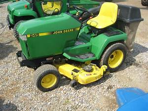 1994 John Deere 245 Lawn  U0026 Garden And Commercial Mowing