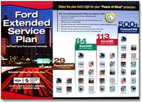 ford extended service plans powertraincare basecare