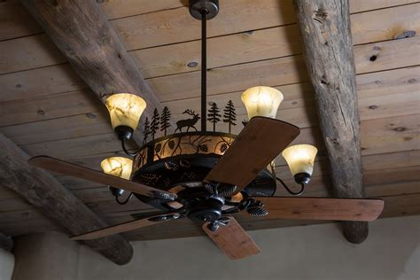 Rustic Ceiling Lights Cabin And Lodge Lighting Home