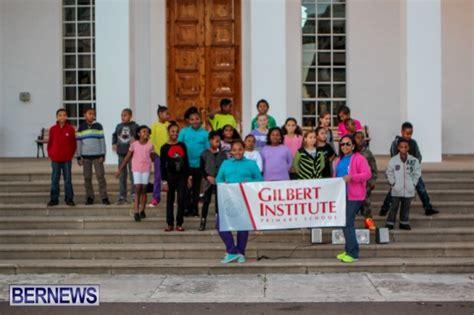 video gilbert institute christmas flash mob bernews