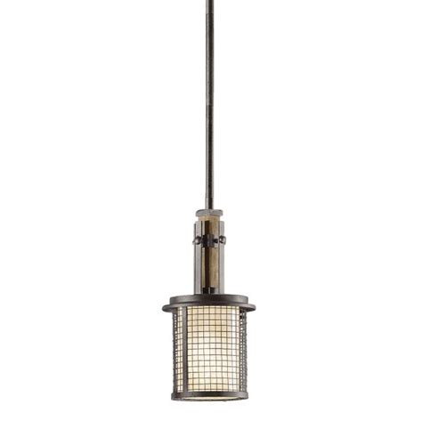small rustic ceiling pendant light open iron mesh covers