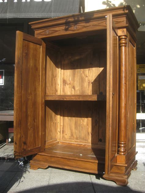 Large Clothing Armoire by Uhuru Furniture Collectibles Sold Large Armoire 200