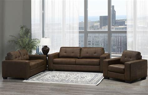 Sofa Set In Walmart by Brassex Skylar 3 Sofa Set Brown Walmart Canada