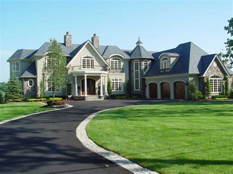 custom homes designs custom home design ideas with large front garden home interior exterior
