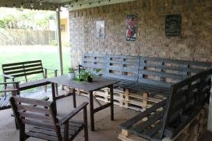 diy patio furniture out of pallets diy outdoor patio furniture from pallets