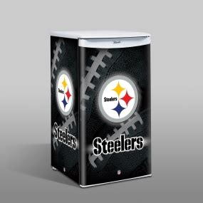 pittsburgh steelers counter top refrigerator