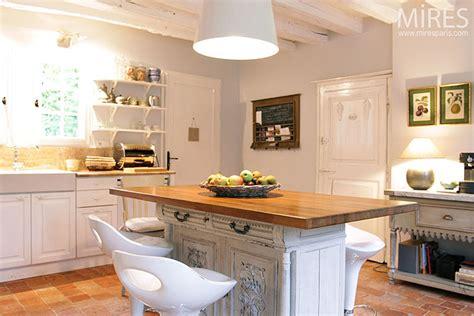 Ilot Central Rustique by Ilot Central Cuisine Rustique Cuisine En Image