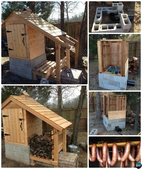 diy outdoor smoker projects picture instructions