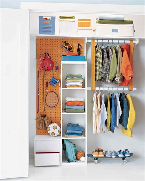 Kid Closet Organizer - 8 organizing solutions for closets martha stewart
