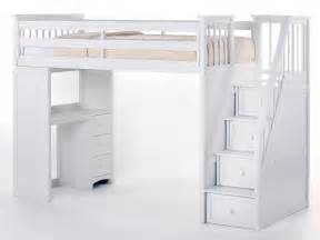 Bunk Bed With Desk Ikea Uk by Bed Stairs Bunk Beds With Stairs And Desk Loft