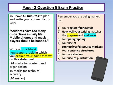 english language paper  question  aqa english exam foundation question  cambridge igcse