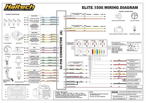 haltech elite 1500 wiring diagram manualzz com