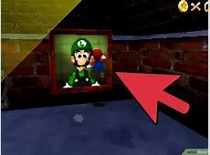 Cómo conseguir a Luigi en Super Mario 64 DS 11 pasos