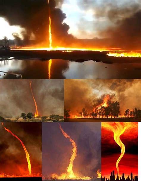 fire tornadoes  alaska   earthquake strikes