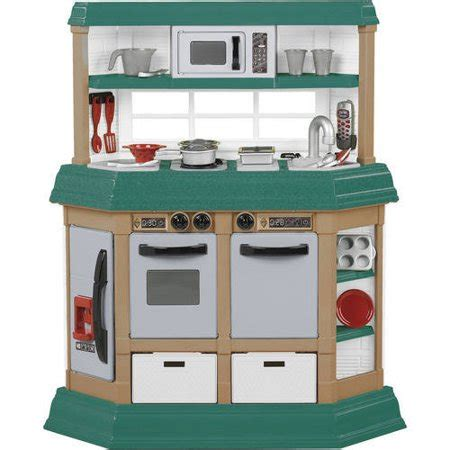 walmart kitchen set for american plastic toys cookin kitchen walmart
