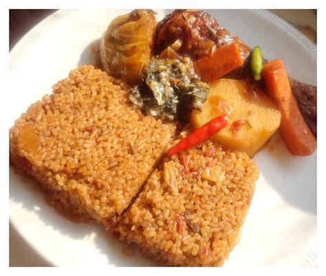 recette cuisine africaine thieboudienne ou riz au gras recettes africaines