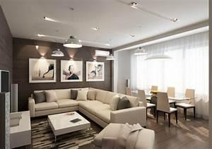 Bilder Mit Rahmen Für Wohnzimmer : 30 dekovorschl ge f r wohnzimmer mit essbereich ~ Lizthompson.info Haus und Dekorationen