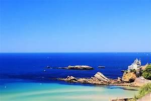 Photo de la plage de la Côte des Basques à Biarritz Atlantikoa chambre d'hôtes au Pays Basque