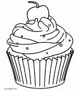 Muffin Blueberry Drawing Coloring Clipartmag sketch template