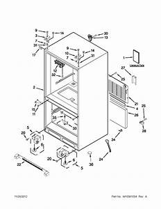 Maytag Refrigerator 22 Cubic Foot Bottom Mount Parts