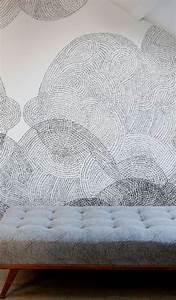 les 25 meilleures idees concernant papier peint pour salle With couleur moderne pour salon 17 1001 modales de papier peint 3d originaux et modernes