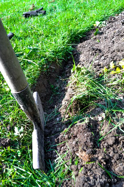 flower bed edger get a flowerbed with less plus other garden cheater