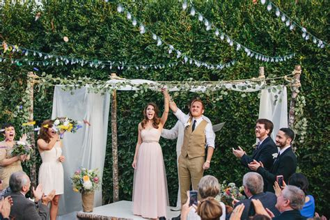 Wedding In My Backyard by How We Planned A 10k Backyard Wedding In Seventeen Days