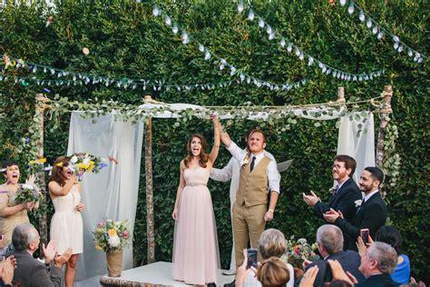How We: Planned A $10K Backyard Wedding In Seventeen Days