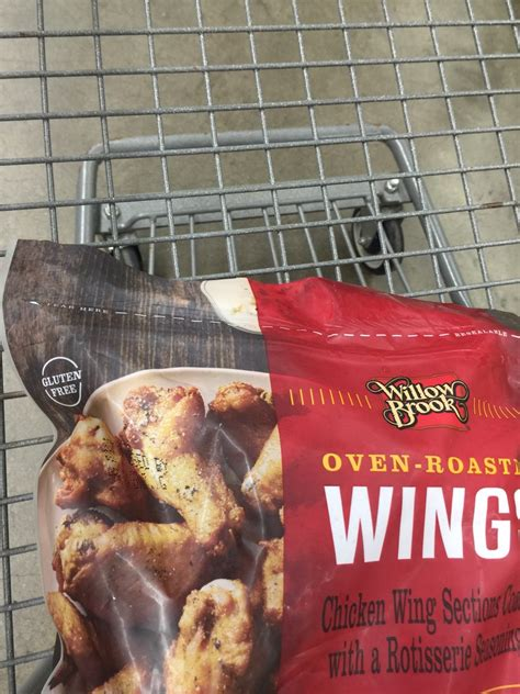 Willow Brook Oven Roasted Wings: Calories, Nutrition