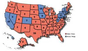 United States Presidential Election Map 1980