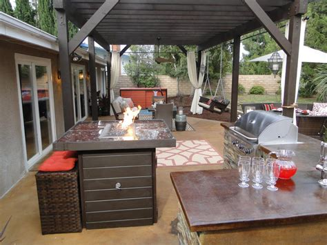 small outdoor kitchen ideas pictures tips  hgtv hgtv