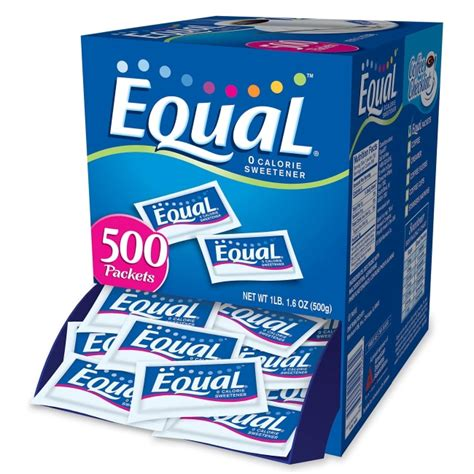 So even though i personally prefer black coffee, i went to work experimenting with how to sweeten coffee without sugar. Equal Equal Sugar Substitute - 0.04 oz - Artificial Sweetener - 500/Box - Quickship.com