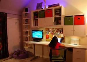 Bureau Fille Ikea : unique d co pour unique ikea chambre ado ~ Teatrodelosmanantiales.com Idées de Décoration