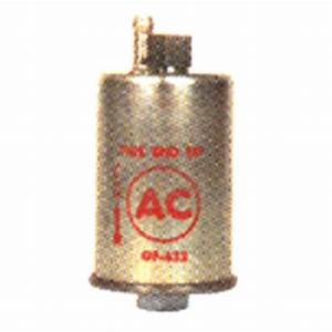 Reproduction Fuel Filter Canister For 1969 Camaro  Ac Logo