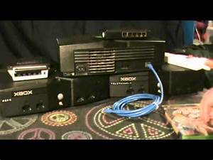 A scene from MCTV: Xbox LAN system link setup tutorial ...