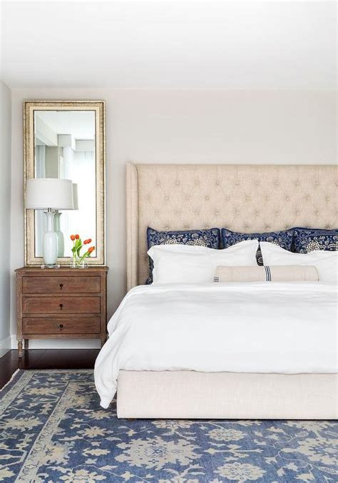 blue table ls bedroom cream and blue bedroom ideas transitional bedroom