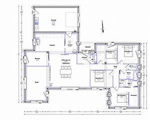 plan maison plain pied 150m2 gratuit bricolage maison With plan maison plain pied 150m2 gratuit