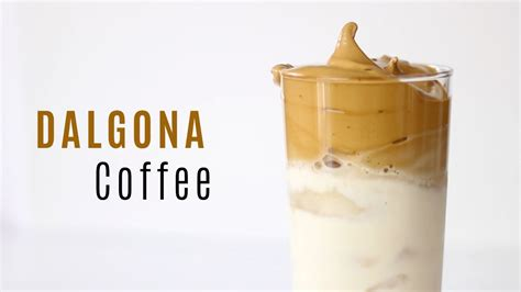 Fluffy coffee is a drink that's made from instant coffee. DALGONA Coffee (Fluffy Coffee) - YouTube