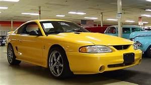 1998 Ford Mustang SVT Cobra 4.6 DOHC V8 Five speed - YouTube