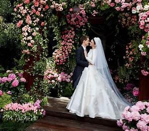 miranda kerr dior wedding dress photos for vogue With dior wedding dresses