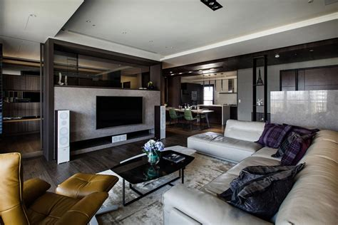 interior design of luxury homes s modern apartment in kaohsiung city designed