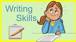 Importance of Writing Skills - YouTube