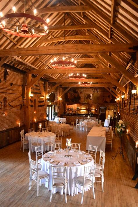 beautiful barn wedding venues  norfolk