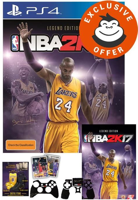 NBA 2K17 Legend Edition | PS4 | Buy Now | at Mighty Ape NZ