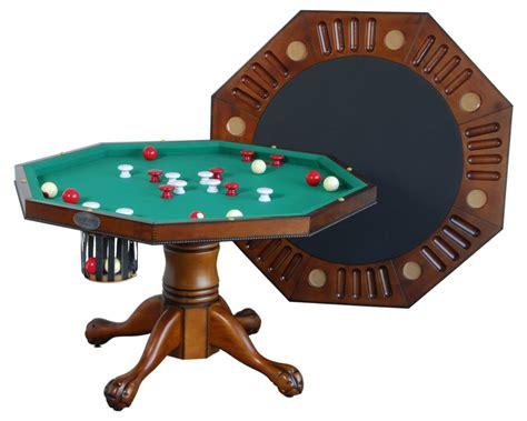 vintage bumper pool table berner billiards 3 in 1 table octagon 48 w bumper pool