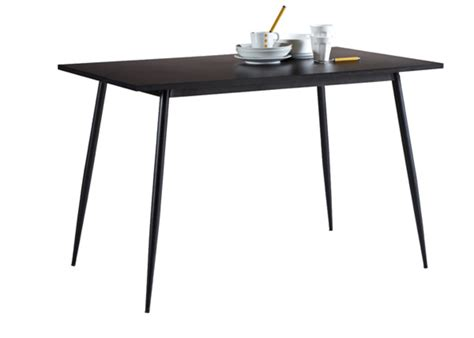 table de cuisine noir table de cuisine niko noir
