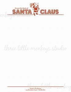 from the desk of santa claus letterhead new calendar With santa claus letter stationary
