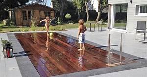 installation de piscine a fond mobile dans les hauts de france With piscine a fond mobile