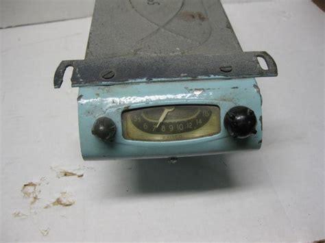sell   vintage  philco cr  car tube  radio