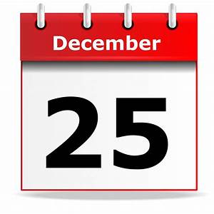 Desk Calendar Icon December 25th Free Stock Photo - Public ...